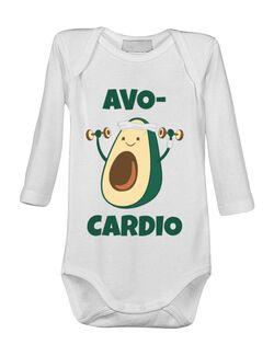 Baby body Avo-cardio Alb