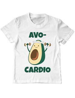 Tricou ADLER copil Avo-cardio Alb