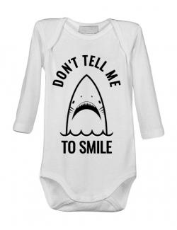 Baby body Sad shark Alb