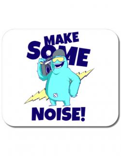Mousepad personalizat Party starter Alb