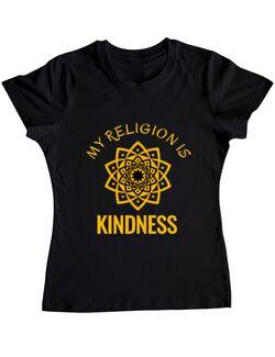 Tricou ADLER dama Kindness Negru