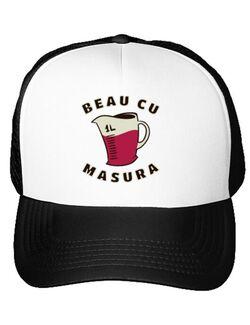 Sapca personalizata Beau cu masura Alb