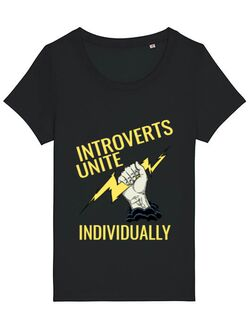 Tricou STANLEY STELLA dama Introverts unite Negru