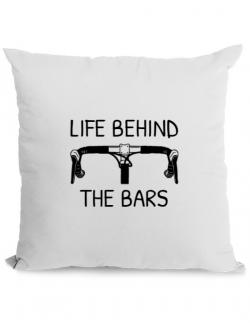 Perna personalizata Life behind the bars Alb