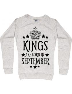 Bluza ADLER dama Kings are born in september Migdala melanj