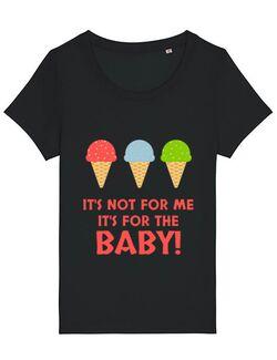 Tricou STANLEY STELLA dama For the baby Negru