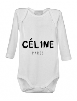 Baby body Celine paris Alb