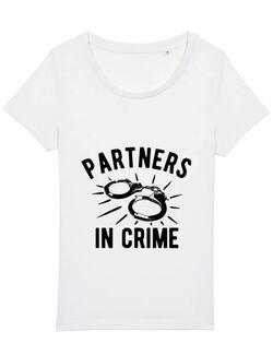 Tricou STANLEY STELLA dama Partners in crime 1 Alb