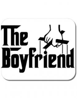 Mousepad personalizat The boyfriend Alb