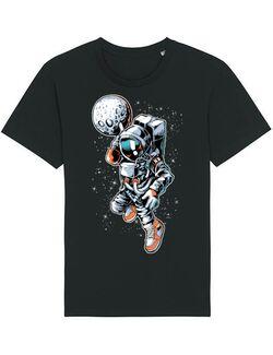 Tricou STANLEY STELLA barbat Astronaut Negru