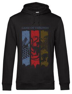 Hoodie barbat cu gluga Game of Thrones Negru