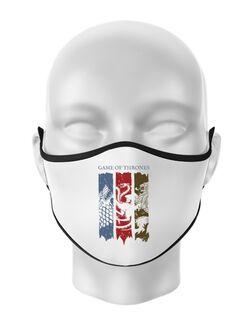 Masca personalizata reutilizabila Game of Thrones Alb