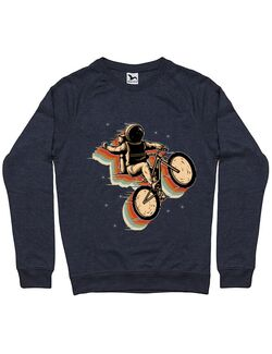 Bluza ADLER barbat Cycling space Denim inchis