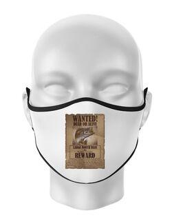 Masca personalizata reutilizabila Dead or alive Alb