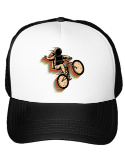 Sapca personalizata Cycling space Alb