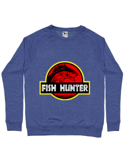 Bluza ADLER barbat Fish hunter Albastru melanj