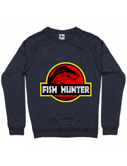 Bluza ADLER barbat Fish hunter Denim inchis