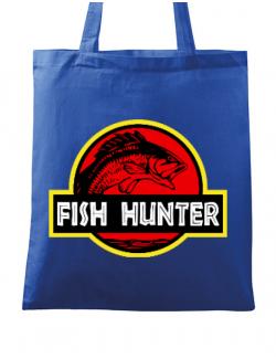Sacosa din panza Fish hunter Albastru regal
