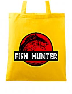 Sacosa din panza Fish hunter Galben