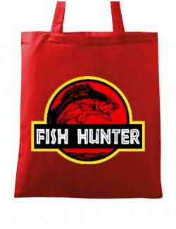 Sacosa din panza Fish hunter Rosu