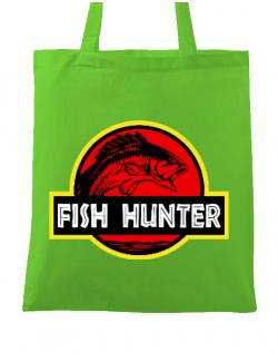 Sacosa din panza Fish hunter Verde mar