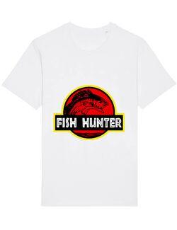 Tricou STANLEY STELLA barbat Fish hunter Alb