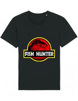 Tricou STANLEY STELLA barbat Fish hunter Negru