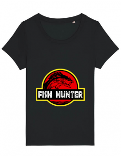 Tricou STANLEY STELLA dama Fish hunter Negru