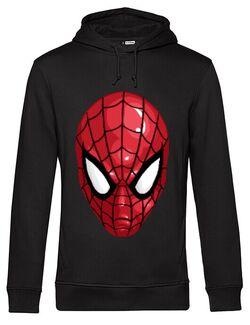 Hoodie barbat cu gluga Spiderman mask Negru