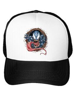 Sapca personalizata Venom rise Alb