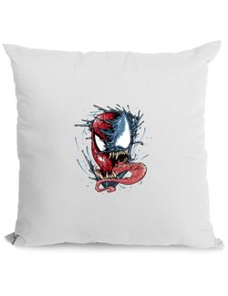 Perna personalizata Venom vs Spiderman Alb
