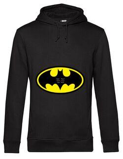 Hoodie barbat cu gluga Six pack Batman Negru