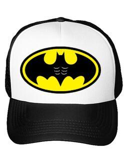 Sapca personalizata Six pack Batman Alb