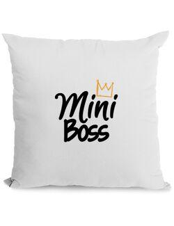 Perna personalizata Mini boss Alb