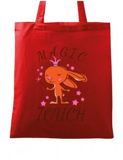 Sacosa din panza Magic touch Rosu