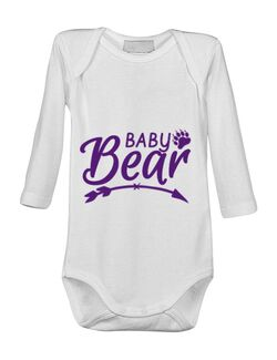 Baby body Baby bear Alb