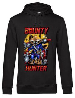 Hoodie barbat cu gluga Bounty hunter Negru