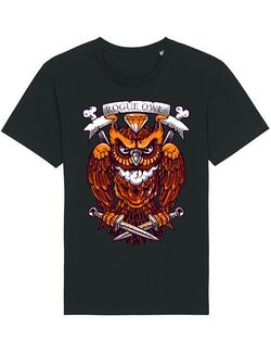 Tricou STANLEY STELLA barbat Rogue owl Negru