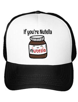 Sapca personalizata If you are nutella Alb