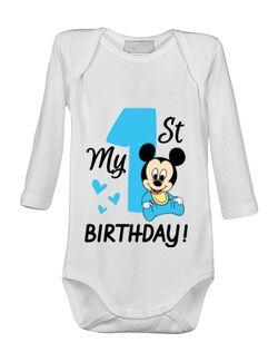 Baby body My first birthday Alb