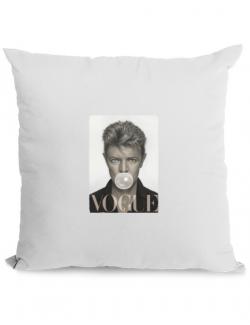 Perna personalizata Bowie Alb