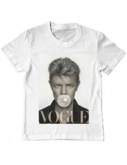 Tricou ADLER copil Bowie Alb