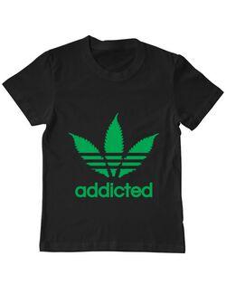 Tricou ADLER copil Addicted Negru