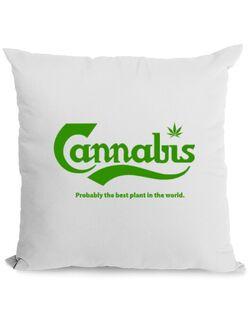Perna personalizata Cannabis Alb