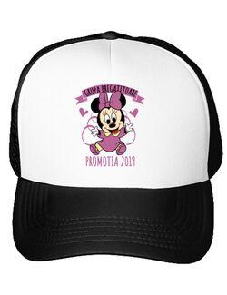 Sapca personalizata Absolvire Minnie Mouse Alb