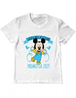 Tricou ADLER copil Absolvire Mickey Mouse Alb