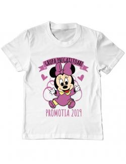 Tricou ADLER copil Absolvire Minnie Mouse Alb
