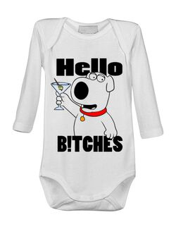 Baby body Hello bitches Alb