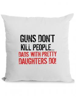 Perna personalizata Guns dont kill Alb