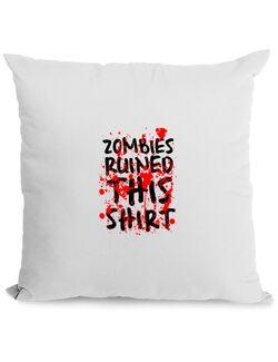 Perna personalizata Zombies Alb